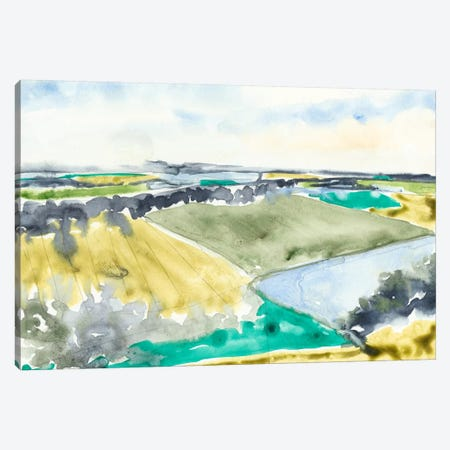 Watercolor Field II Canvas Print #JGO133} by Jennifer Goldberger Canvas Print