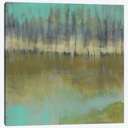 Soft Treeline on the Horizon I Canvas Print #JGO1343} by Jennifer Goldberger Canvas Wall Art