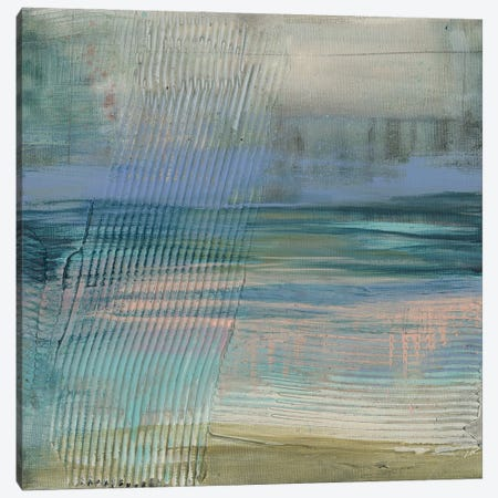 Textured Coastline II Canvas Print #JGO1350} by Jennifer Goldberger Canvas Print