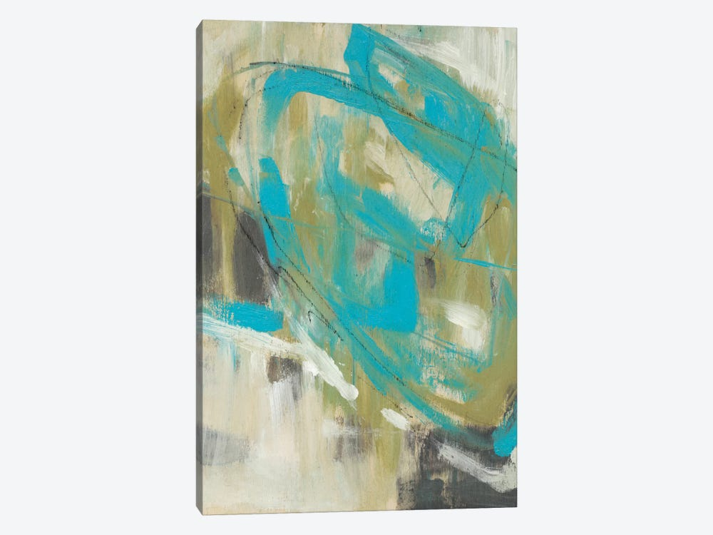 Whirling II by Jennifer Goldberger 1-piece Canvas Print