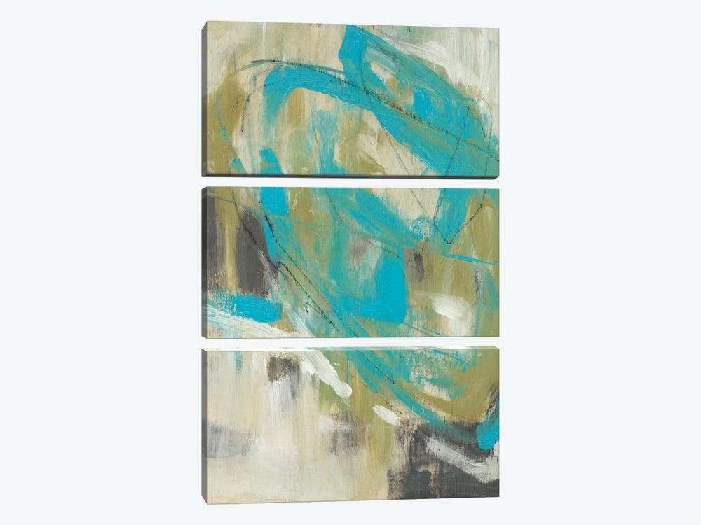 Whirling II by Jennifer Goldberger 3-piece Canvas Art Print
