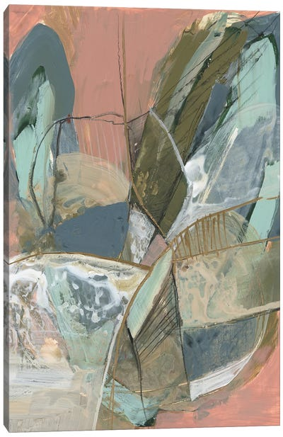 Abstract Zag I Canvas Art Print