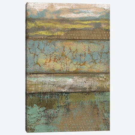 Segmented Textures I Canvas Print #JGO144} by Jennifer Goldberger Art Print