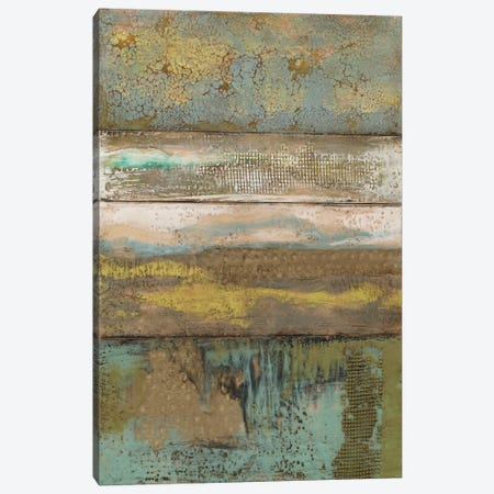 Segmented Textures II Canvas Print #JGO145} by Jennifer Goldberger Canvas Art Print