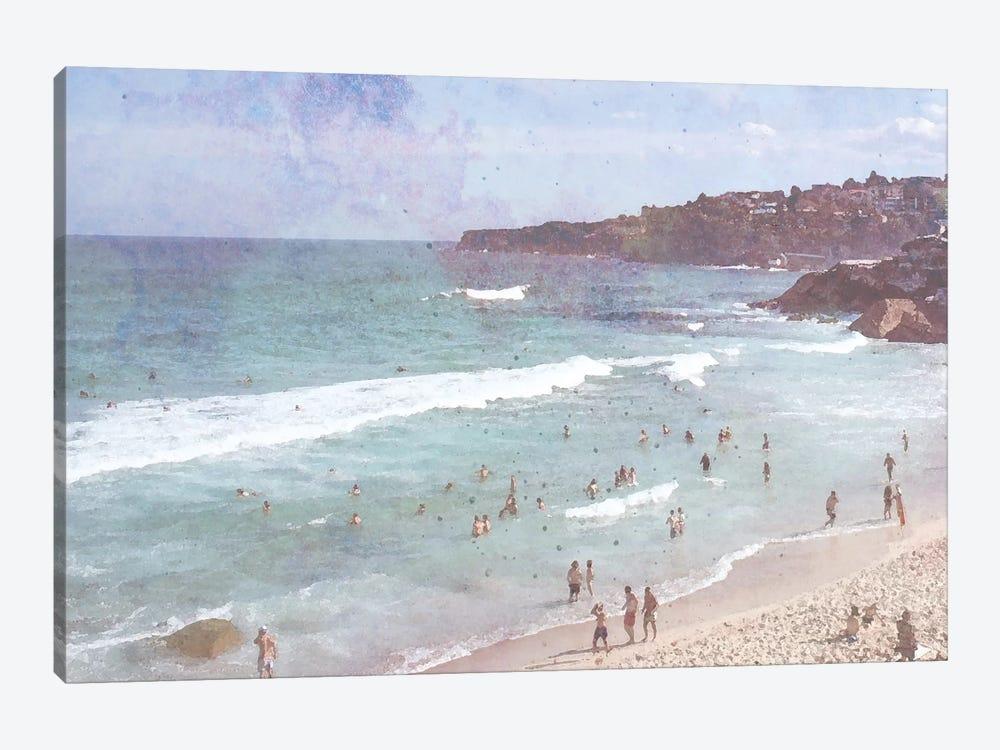 Day At The Beach III by Jennifer Goldberger 1-piece Canvas Wall Art