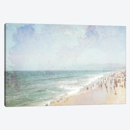 Day At The Beach IV Canvas Print #JGO151} by Jennifer Goldberger Canvas Print