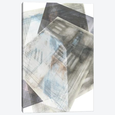 Faceted Illusion III Canvas Print #JGO160} by Jennifer Goldberger Canvas Artwork