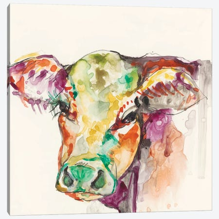 Hi-Fi Farm Animals I Canvas Print #JGO172} by Jennifer Goldberger Canvas Print