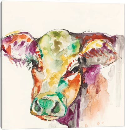 Hi-Fi Farm Animals I Canvas Art Print