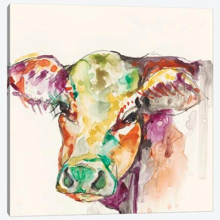 Hi-Fi Farm Animals I Canvas Print #JGO172} by Jennifer Goldberger Canvas Print