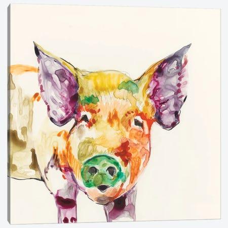 Hi-Fi Farm Animals III Canvas Print #JGO174} by Jennifer Goldberger Canvas Art
