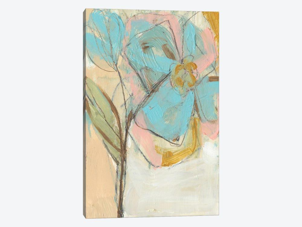 Impasto Flower I by Jennifer Goldberger 1-piece Canvas Wall Art
