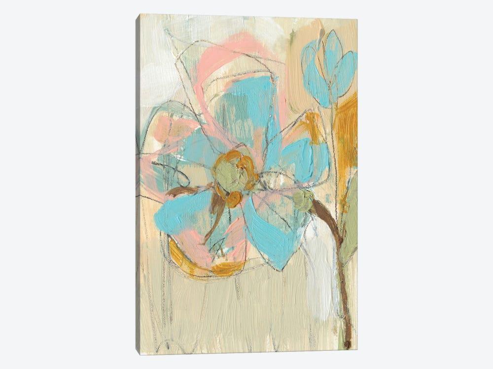 Impasto Flower II by Jennifer Goldberger 1-piece Canvas Print