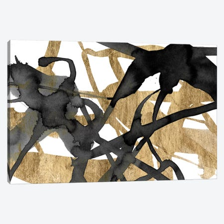 Luxe Gold I Canvas Print #JGO182} by Jennifer Goldberger Canvas Wall Art