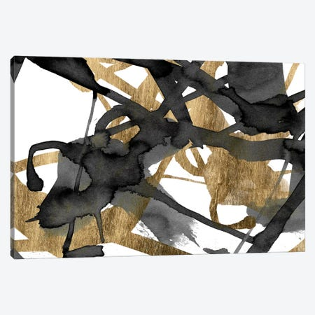 Luxe Gold II Canvas Print #JGO183} by Jennifer Goldberger Canvas Art