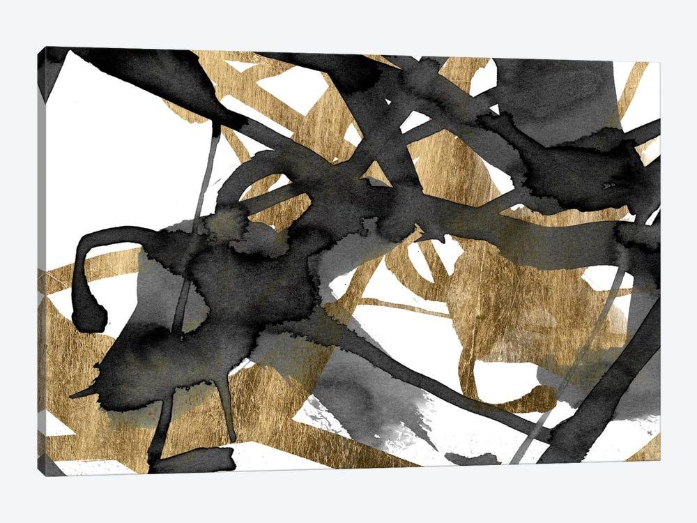 Luxe Gold II by Jennifer Goldberger 1-piece Canvas Artwork