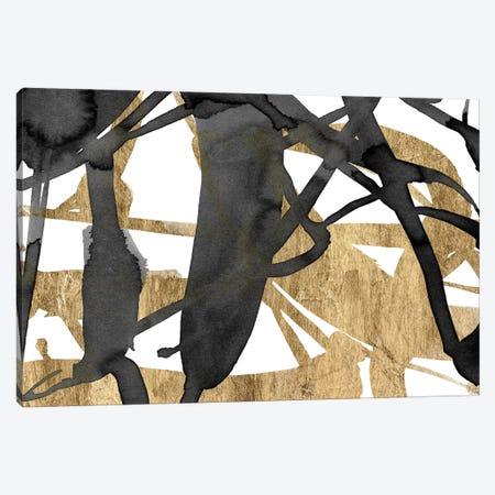 Luxe Gold III Canvas Print #JGO184} by Jennifer Goldberger Canvas Print
