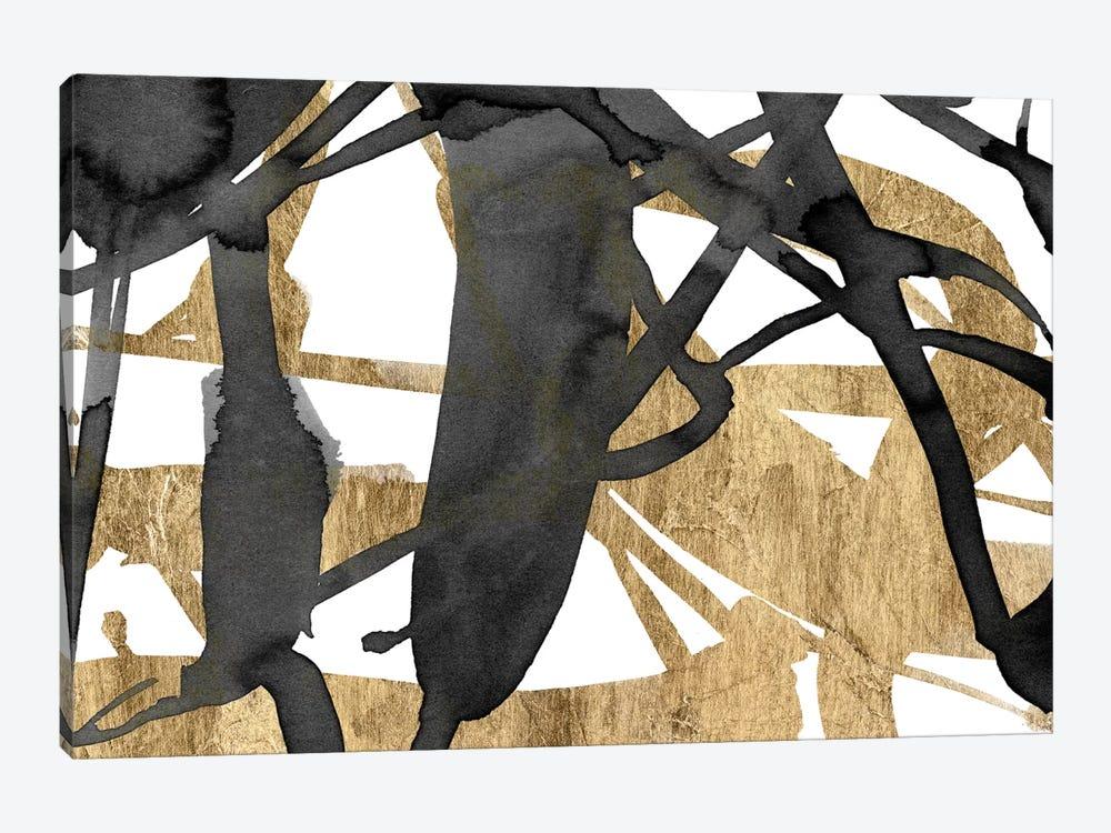 Luxe Gold III by Jennifer Goldberger 1-piece Canvas Print