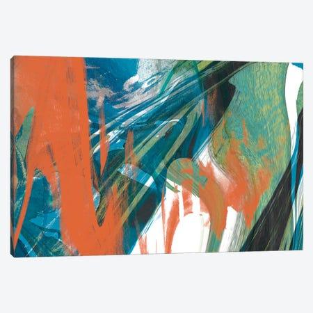 Marbled Abstraction I Canvas Print #JGO185} by Jennifer Goldberger Canvas Art Print
