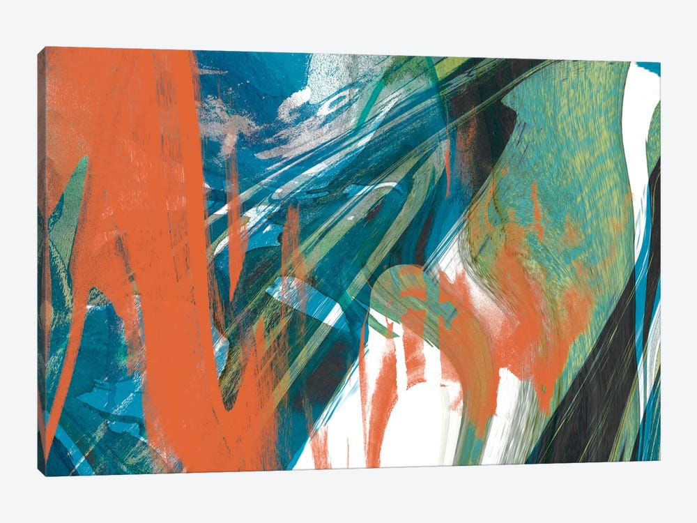 Marbled Abstraction I by Jennifer Goldberger 1-piece Canvas Wall Art