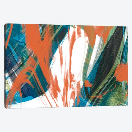 Marbled Abstraction II Canvas Print #JGO186} by Jennifer Goldberger Canvas Print