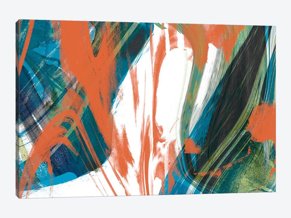 Marbled Abstraction II by Jennifer Goldberger 1-piece Canvas Art Print