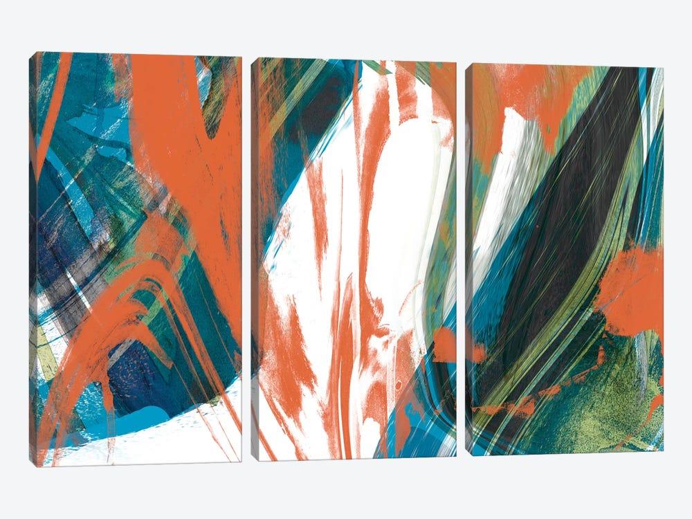 Marbled Abstraction II by Jennifer Goldberger 3-piece Art Print