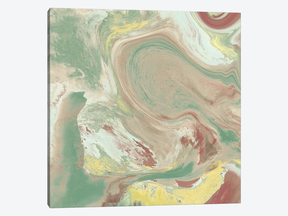 Marbled Illusion I by Jennifer Goldberger 1-piece Canvas Wall Art
