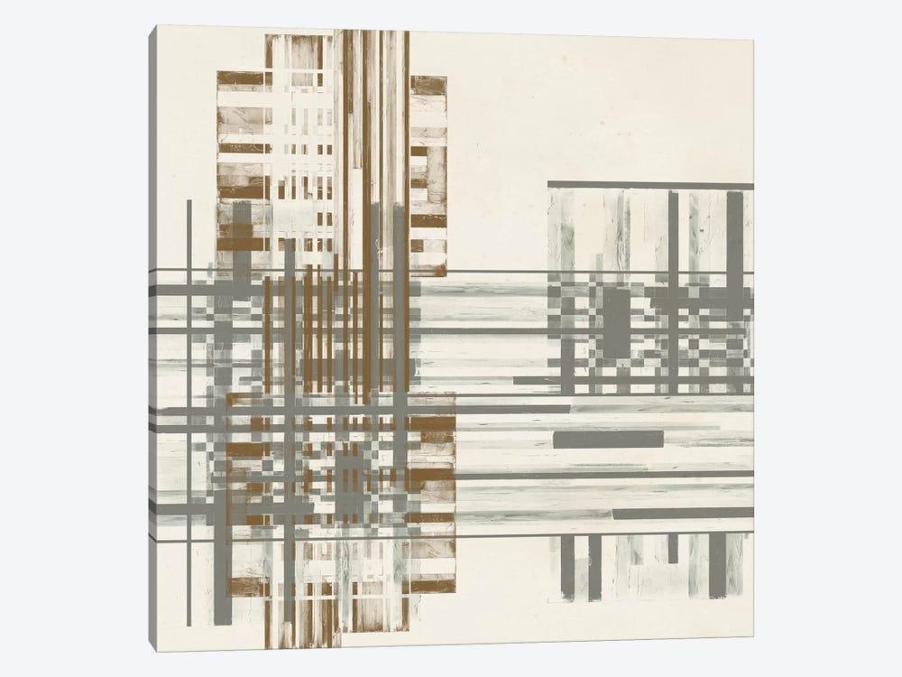 Matrix Illusion  I by Jennifer Goldberger 1-piece Canvas Artwork
