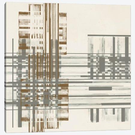 Matrix Illusion  I Canvas Print #JGO189} by Jennifer Goldberger Canvas Artwork