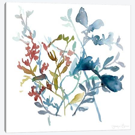 Bloom Array II Canvas Print #JGO18} by Jennifer Goldberger Canvas Art Print