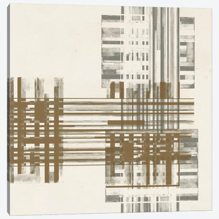 Matrix Illusion  II Canvas Print #JGO190} by Jennifer Goldberger Canvas Print