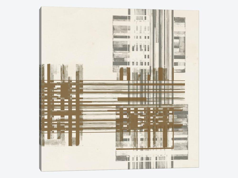Matrix Illusion  II by Jennifer Goldberger 1-piece Canvas Artwork