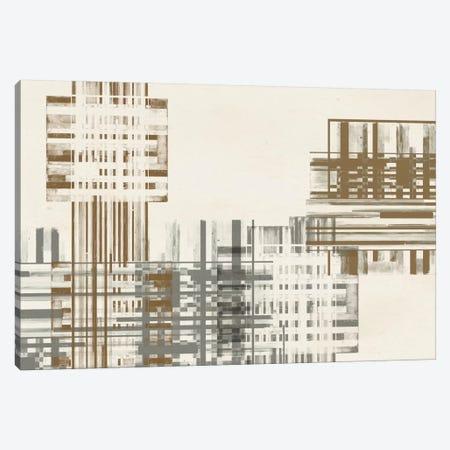 Matrix Illusion  IV Canvas Print #JGO192} by Jennifer Goldberger Art Print