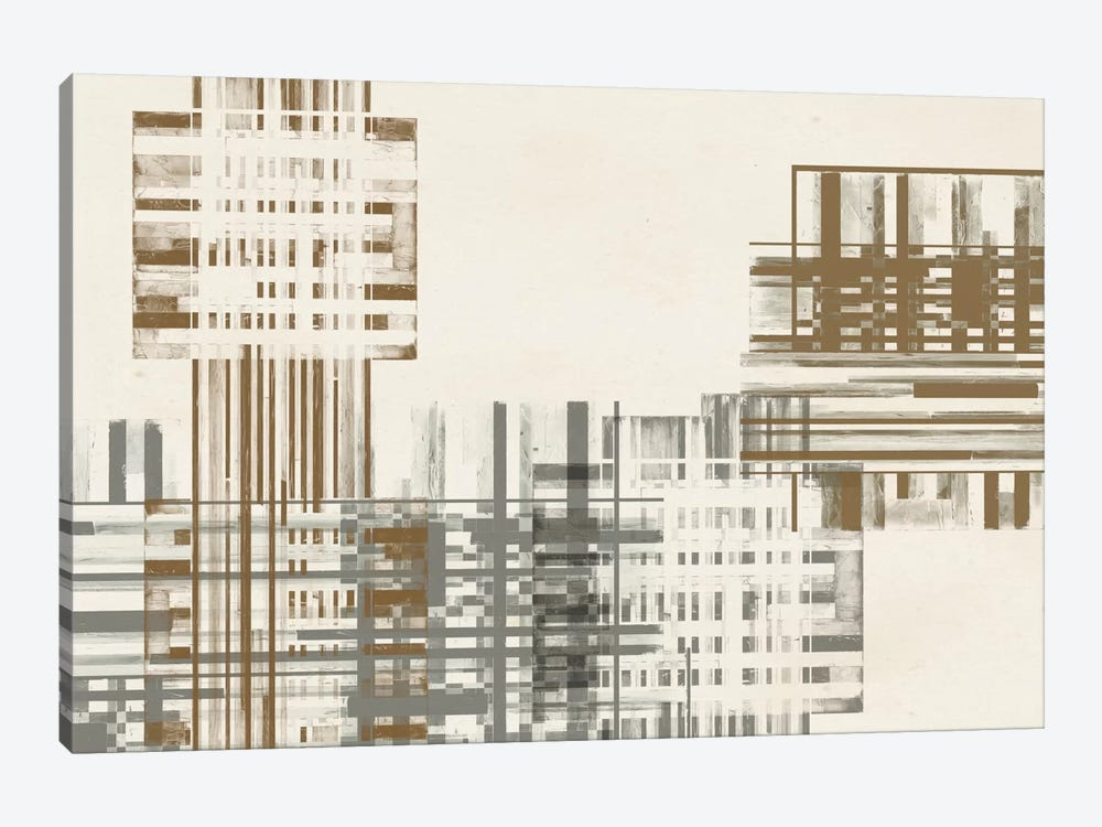 Matrix Illusion  IV by Jennifer Goldberger 1-piece Canvas Artwork