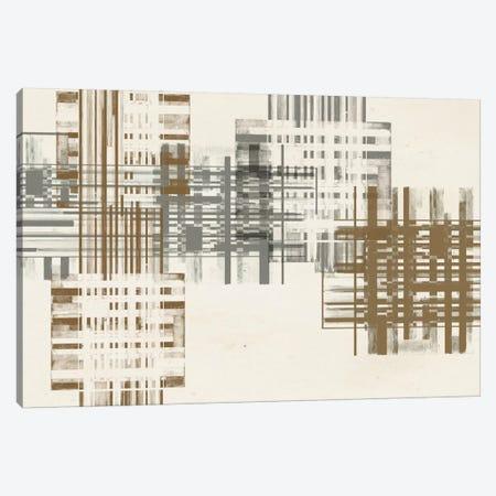 Matrix Illusion  V Canvas Print #JGO193} by Jennifer Goldberger Art Print