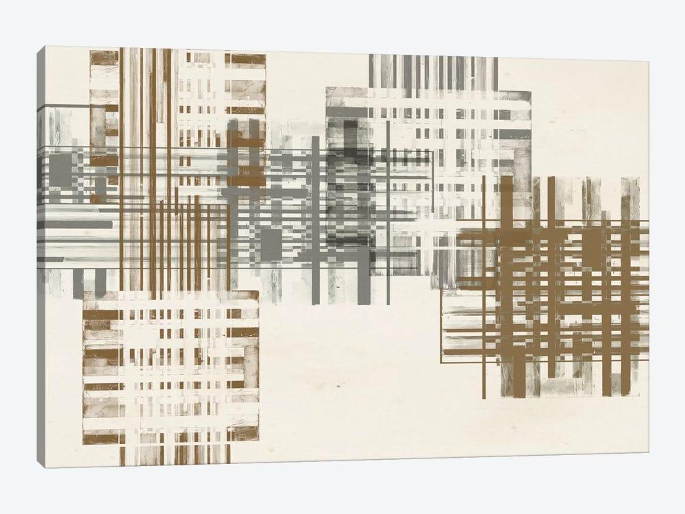 Matrix Illusion  V by Jennifer Goldberger 1-piece Canvas Art Print