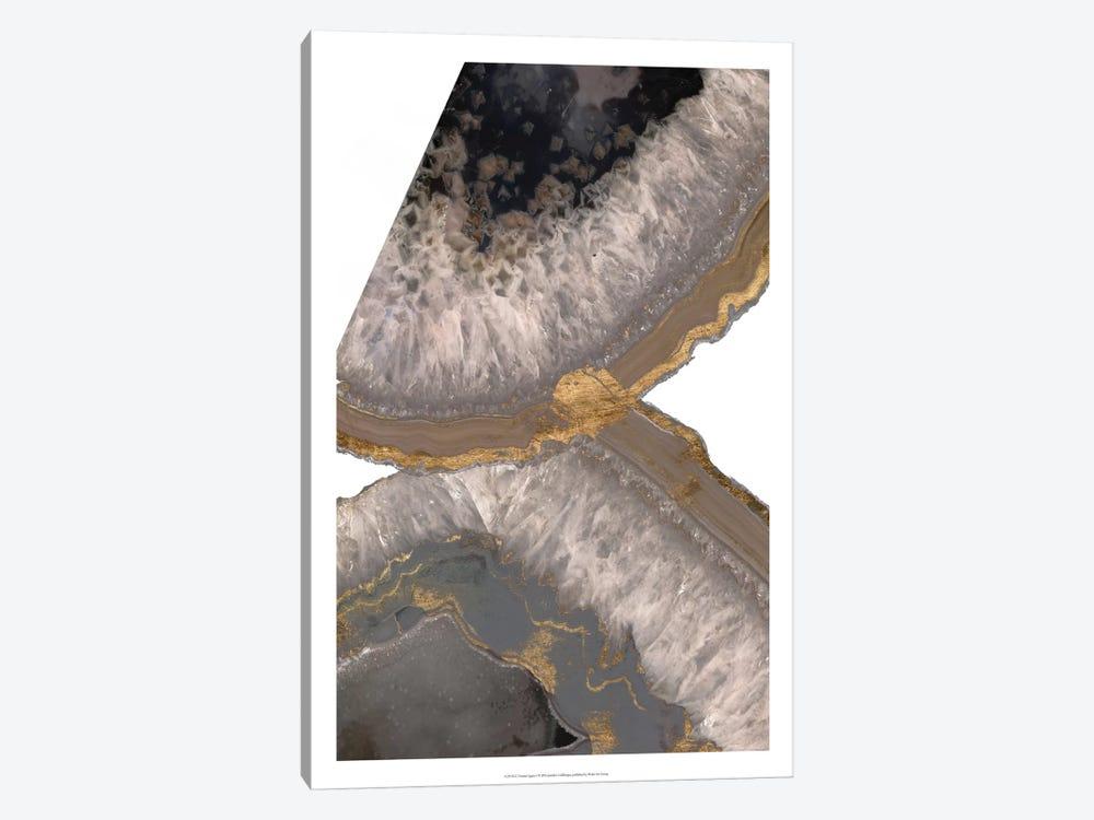 Neutral Agates I by Jennifer Goldberger 1-piece Canvas Wall Art