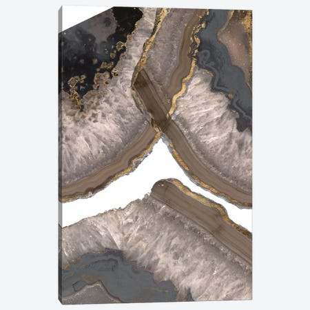 Neutral Agates II Canvas Print #JGO199} by Jennifer Goldberger Canvas Print
