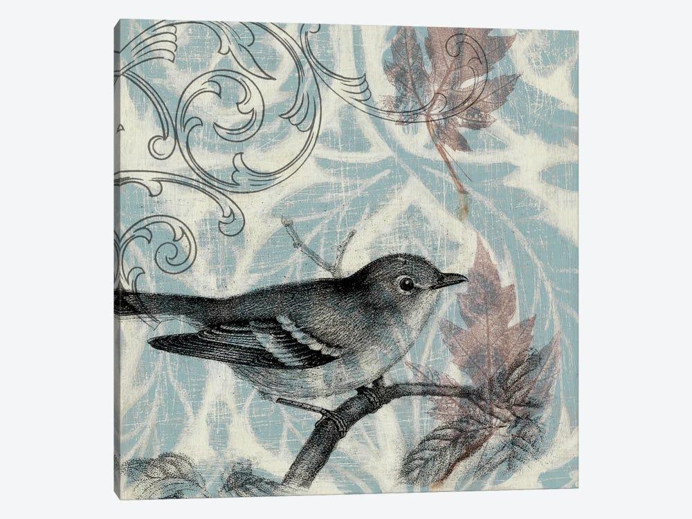 Autumn Songbird I by Jennifer Goldberger 1-piece Canvas Art Print