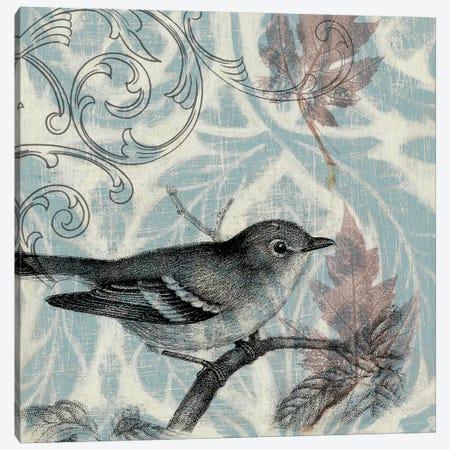 Autumn Songbird I Canvas Print #JGO1} by Jennifer Goldberger Art Print