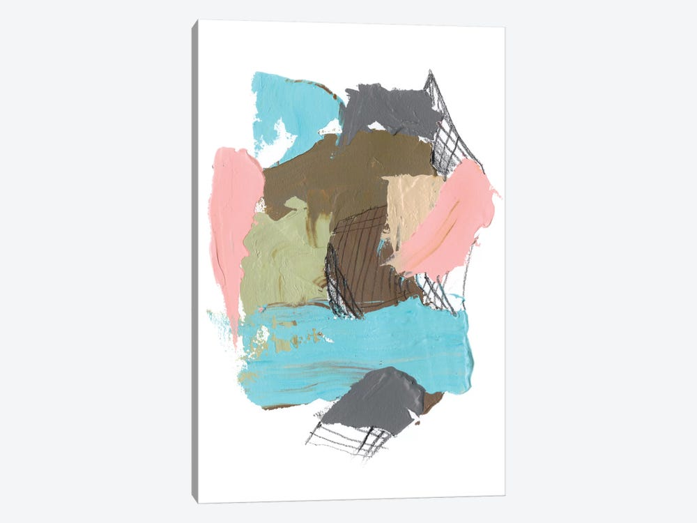 Paint Web II by Jennifer Goldberger 1-piece Canvas Art