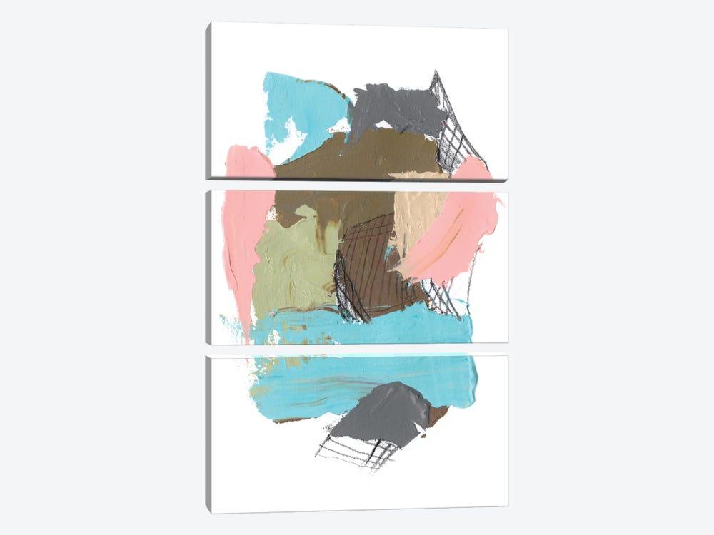 Paint Web II by Jennifer Goldberger 3-piece Canvas Artwork