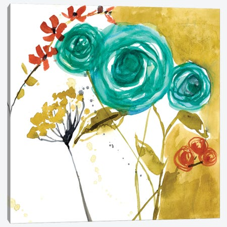 Painted Whimsy V Canvas Print #JGO206} by Jennifer Goldberger Canvas Artwork