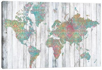 Boho Map II Canvas Print #JGO20