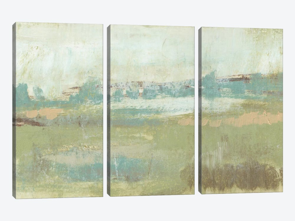 Pastel Landscape II by Jennifer Goldberger 3-piece Art Print