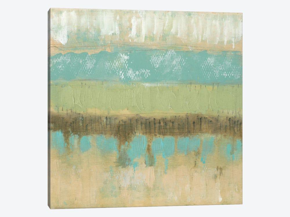 Pastel Textures II by Jennifer Goldberger 1-piece Canvas Art Print