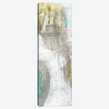 Citron & Teal Orbs I Canvas Print #JGO21} by Jennifer Goldberger Canvas Wall Art
