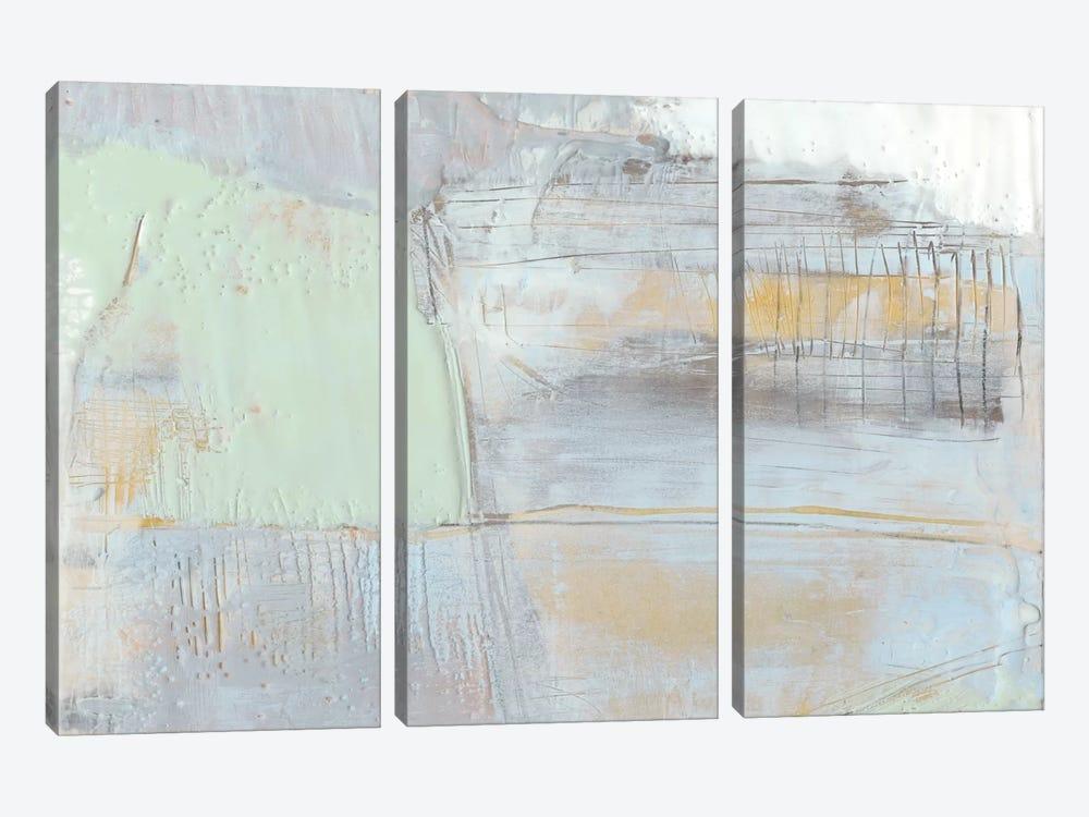 Pastels In Wax I by Jennifer Goldberger 3-piece Art Print