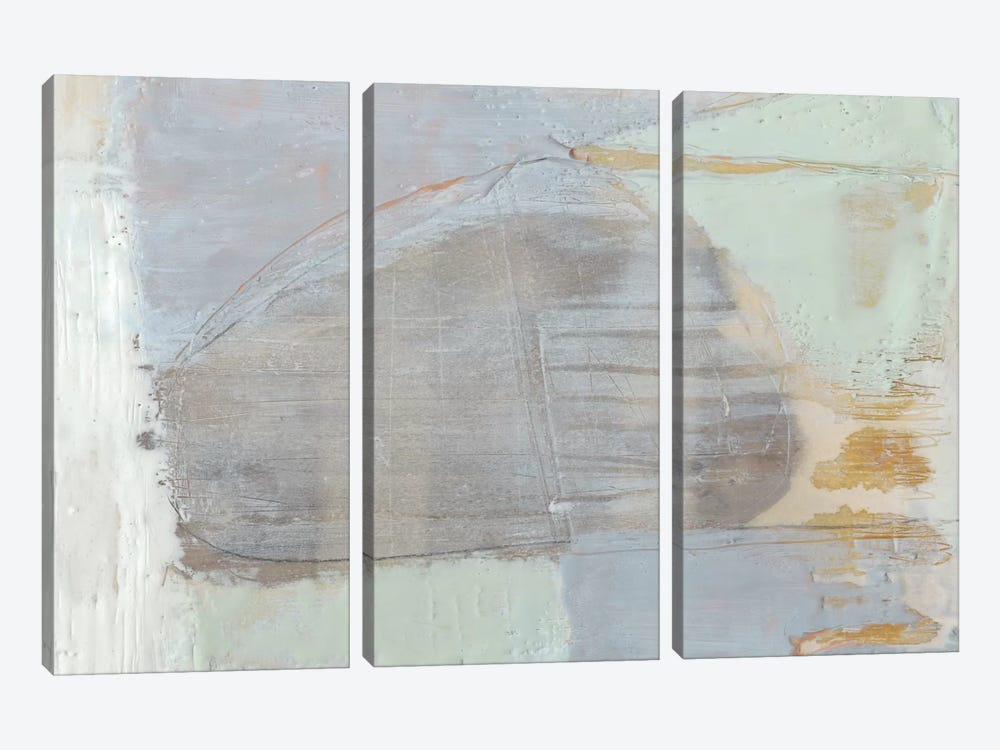 Pastels In Wax II by Jennifer Goldberger 3-piece Canvas Art